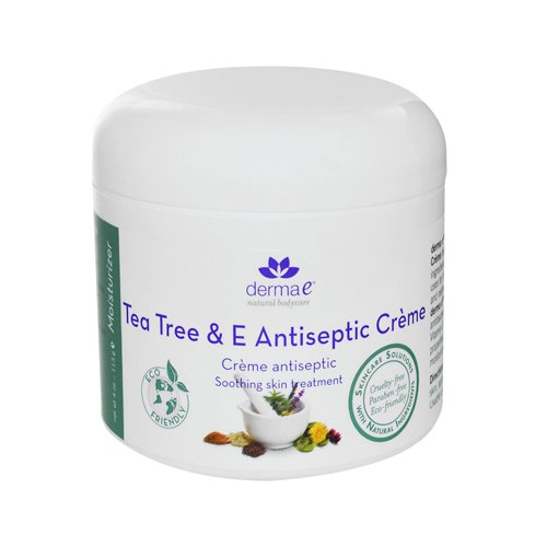 Derma E Tea Tree And E Antiseptic Creme 4 Oz front-755573