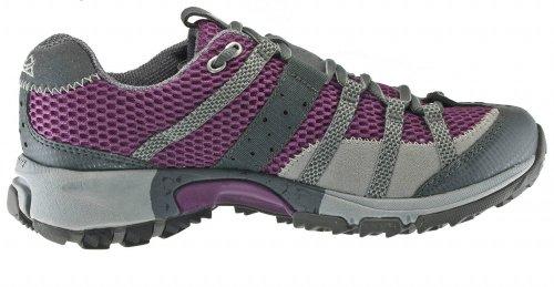 Montrail Women's Mountain Masochist Trail Running Shoe,Bramble/Cool Grey,7 M US