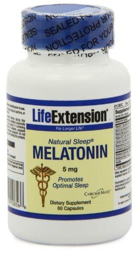Life Extension naturelle du sommeil mélatonine 5