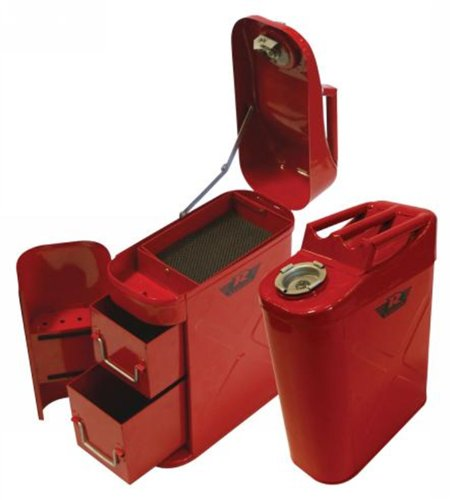 Rampage Jeep 86619 Trail Can Utility Tool Box (Jeep Jerry Can Holder compare prices)