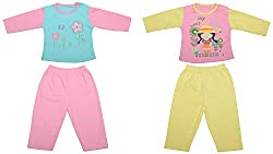 kandyfloss Baby Cotton Night Suit