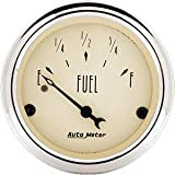 Auto Meter 1817 Antique Beige Fuel Level Gauge