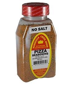 Marshalls Creek Spices Pizza Seasoning Seasoning Jar, No Salt, 11 Ounce