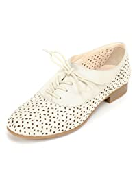 White Mountain Women's Etching Oxford