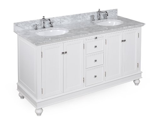 Buy bella 60 inch bathroom vanity carrera product for for Bathroom vanity tops for sale