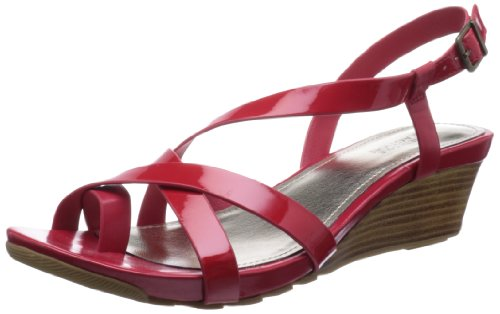 Kenneth Cole Reaction Women'S Sun Rays So Wedge Sandal,Red,7 M Us front-1055771