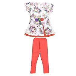 Rush Me Baby Girls' Dress (S.R.3002_3Year, 3 Years, Rani)