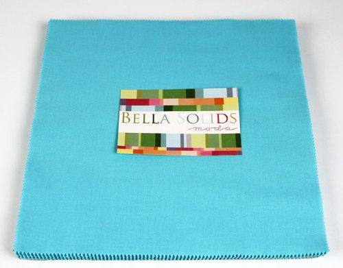 Moda BELLA SOLIDS EGG BLUE Layer Cake 10