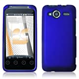 41HZZLxDEvL. SL160  HTC EVO Shift 4G Rubberized Shield Hard Case   Blue