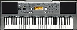 Yamaha PSR-E353, 61-Key Portable Keyboard with Cover, Grey