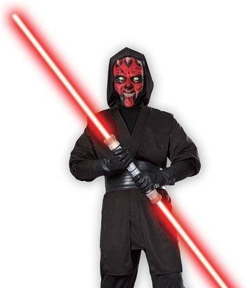 Mens Halloween Costume Star Wars Darth Maul Sith