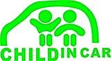 CHILD IN CAR 緑 カッティングステッカー ウォールステッカー ステッカー シール