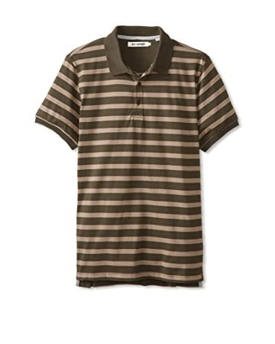 Ben Sherman Men's Breton Stripe Polo