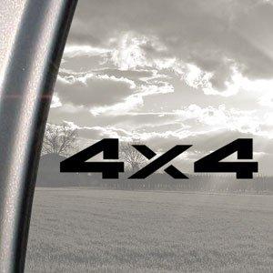 4X4 Offroad Black Decal Car Truck Bumper Window Sticker