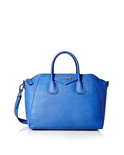 Charles Jourdan Women's Willow 2 Satchel, Cobalt
