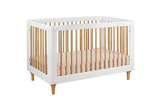 Babyletto-Lolly-3-in-1-Convertible-Crib-with-Toddler-Bed-Conversion-Kit