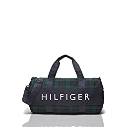 Tommy Hilfiger Big Navy / Pink Duffle Stripe Duffle Bag