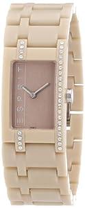 Esprit - ES103562011 - Montre Femme - Quartz Analogique - Bracelet Plastique Beige
