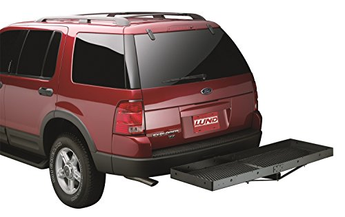 Lund 601010 Hitch-Mounted Cargo Carrier front-337121