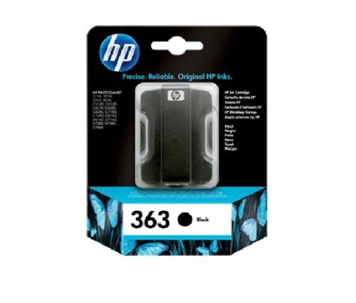 HP - C8721EE ABE - 363 Cartouche d'encre d'origine Noir