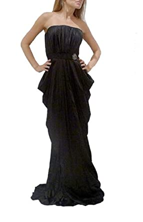 J.Mendel Paris Black Gown Beaded Dress. 6
