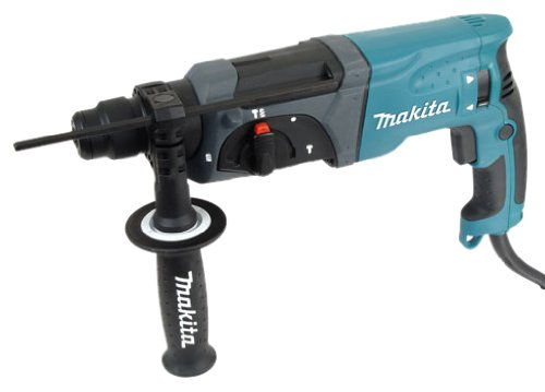 Makita HR2470T Rotary Hammer Drill (2.7 Joules) 240V Electric (Quick change chuck)