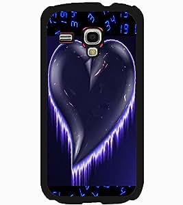 ColourCraft Love Heart Design Back Case Cover for SAMSUNG GALAXY S3 MINI I8190