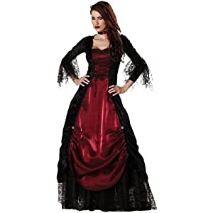 Elite Collection by InCharacter Costumes Gothic Vampiress Adult Costume - Size XL