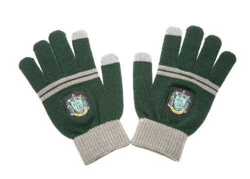 Harry Potter Touchscreen Gloves By Cinereplicas - For Smartphone & Tablets (Slytherin Green)
