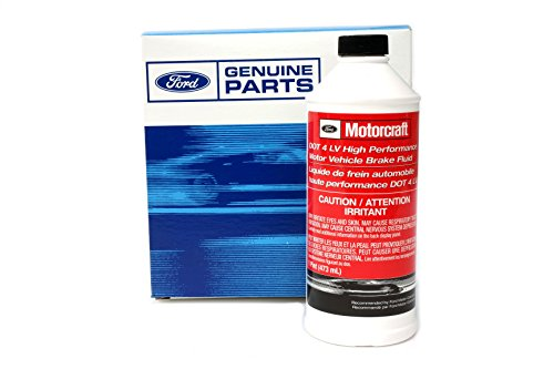 Genuine Ford Fluid PM-20 DOT-4 LV High Performance Motor Vehicle Brake Fluid - 16 oz. (Brake Fluid Dot 4 Low Viscosity compare prices)