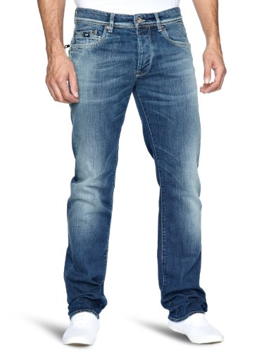 GAS New Dawson W179 Relaxed Men's Jeans Blue W36INxL34IN