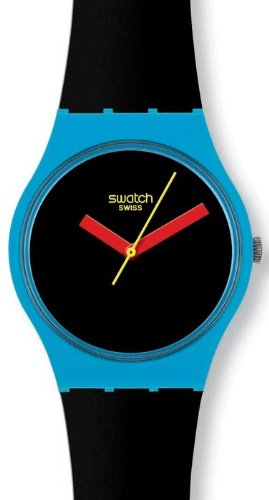 Swatch Originals AFM Cliff Drop Black Dial Unisex watch #GS141