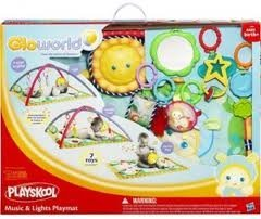 Gloworld Music and Lights Playmat by Playskool
