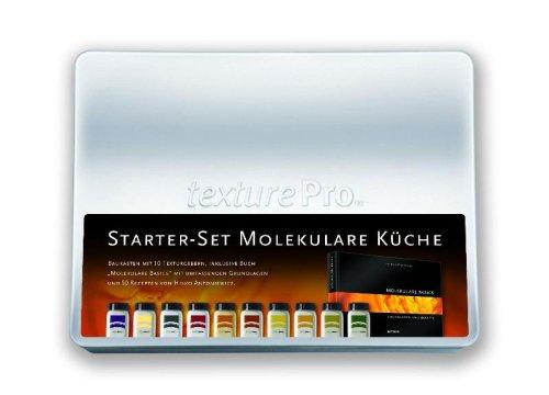 """Starter-Set Molekulare Küche: Baukasten mit 10 Texturgebern, inklusive Buch """"Molekulare Basics"""" mit umfassenden Grundlagen und über 60 Rezepten von Heiko Antoniewicz"""