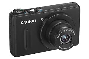 Canon PowerShot S100 Digitalkamera (12 Megapixel, 5-fach opt. Zoom, 7,7 cm (3 Zoll) Display, Full HD Video, GPS, bildstabilisiert) schwarz
