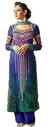 Om Creation Multicolor Embroidered santoon Salwar Suit HS63
