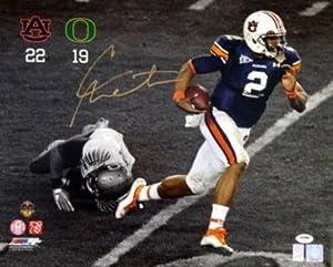 Signed Newton Photograph - Auburn 16x20 - PSA DNA Certified - Autographed NFL Photos by Sports+Memorabilia