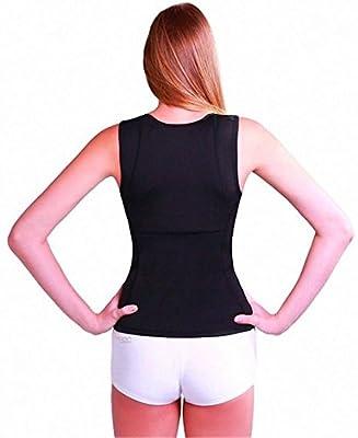 Dshine Women Slim Neoprence Body Shaper Fitness Shirt Vest