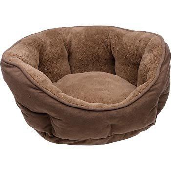 Petco Cuddler Dog Bed in Brown