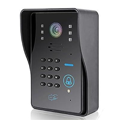 """Remote 9"""" Tft Led Video Doorbell Intercom Rfid Keyfobs Ir Camera Code Keypad 1V2"""
