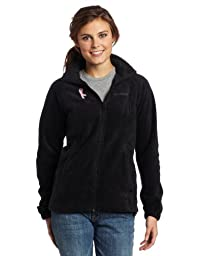 Columbia Women\'s Tested Tough In Pink Benton Springs Ful, Black, Small