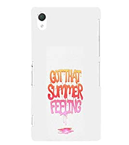 Ebby Premium Printed Mobile Back Case Cover With Full protection For Sony Xperia Z2 (Designer Case)
