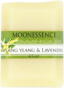 Moonessence Organic Bar Soap, Ylang Lavender, 4.5 Ounce