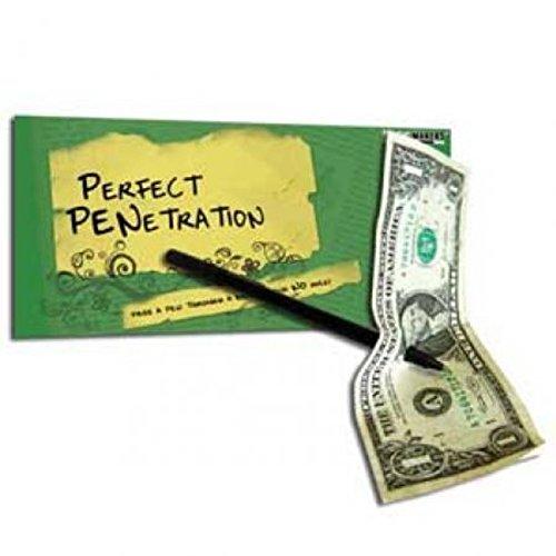 Pen Thru Dollar Magic Trick