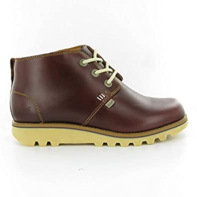 Kickers - Kick Chukka Ace Boots, Burgundy, 6.5 UK Adult