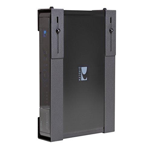 HIDEit Uni-L Adjustable Cable Box Wall Mount, DVR, Satellite Receiver, Component Shelf, Bracket (Wall Mount L Bracket compare prices)