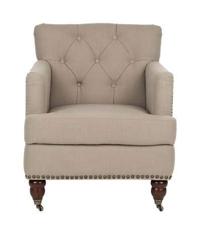 Safavieh Colin Arm Chair, Beige