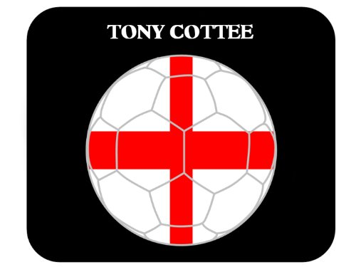 tony-cottee-england-soccer-mouse-pad