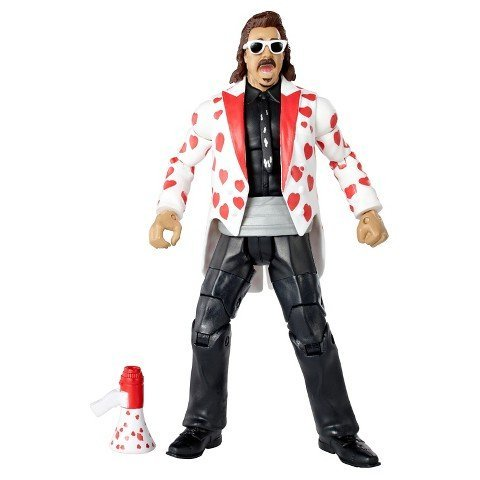 WWE Hall of Fame Elite Collection Jimmy Hart Figure TRG