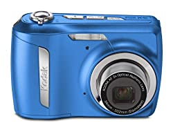 Kodak Easyshare C142 10 MP Digital Camera with 3xOptical Zoom and 2.5-Inch LCD (Blue)